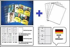 500 A4 Fotohüllen Postkartenhüllen 120my 1 5/8x3 7/8x5 7/8in + White