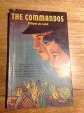 The Commandos By Elliott Arnold Collins White Circle 1946 vintage crime pb