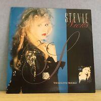 """STEVIE NICKS Whole Lotta Trouble 1981 UK 12"""" vinyl single EXCELLENT CONDITION  A"""