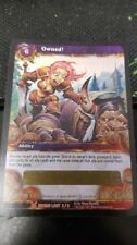World of Warcraft Owned! Loot Card Unscratched