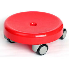 [Made In Korea] New Convenient Moving Floor Seat Chair With 8 Urethane Wheels