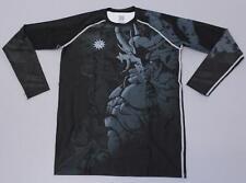 Fixgear Men's Long Sleeve Compression Base Layer T-Shirt SH3 Black Medium NWT