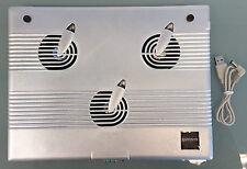 3 Ventiladores Usb refrigeración Pad enfriador Para Laptop
