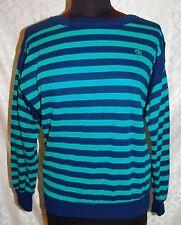 Oscar De La Renta Active M Vtg Top Vintage Striped Stripes Shirt Blouse
