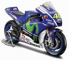 MAISTO 31407 YAMAHA M1 model motorbike Valentino Rossi MotoGP 2015 1:10th scale