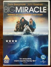 Big Miracle DVD 2012 Wahres Leben Gray Wal Rescue Drama Film W / Drew Barrymore