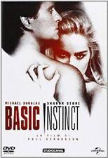 BASIC INSTINCT  DVD THRILLER