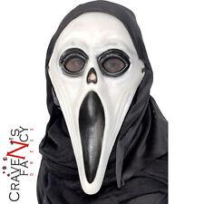 Adulti SCREAM HORROR MASCHERA CON CAPPUCCIO Bagliore nel Buio Costume Halloween Costume