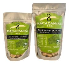 Roasted Unsalted Macadamia Nuts - 135g, 275g & 1.25kg