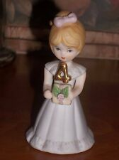 Enesco Growing Up Girls 4Th Birthday Doll Figurine - Blonde Hair