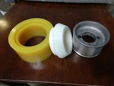 Press Tool For 4 38 Od Polyurethane Power Stock Feeder Roller Wheels