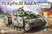 Takom 8005 1/35 Pz.Kpfw.III Ausf.N mit Schürzen Tank 2020 MODEL