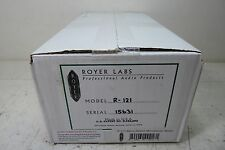 ROYER R-121 PROFESSIONAL STUDIO OR LIVE RIBBON MICROPHONE NEW UNOPENED BOX LQQK!