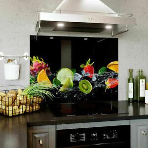 Glass Splashback Kitchen 440x600 mm BESPOKE Custom Made To Maesure Tailored