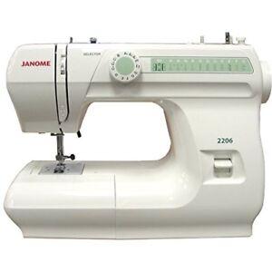 Janome 2206 Mechanical Sewing Machine with Bonus Bundle