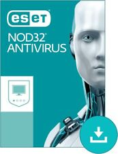 ESET NOD32 Antivirus Edition 2020 | Authorised Reseller | 1, 2 Years [lot]