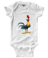 Infant Gerber Onesies Bodysuit One-Pieces Clothes Baby Rooster HeiHei chicken