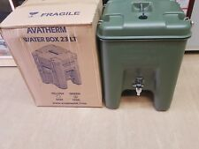 New British Army Issue Avatherm 23L Insulated Drink Food Container With Tap