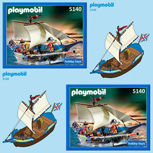 Playmobil 4444 / 5140 / 5298 / 5919 / 6681 * PIRATE SHIP * SPARE PARTS SERVICE *