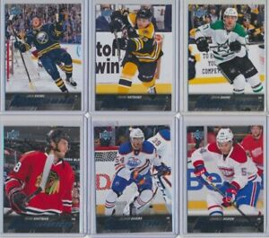 2015-16 Upper Deck Series 2 Young Guns Rookie YOU CHOOSE