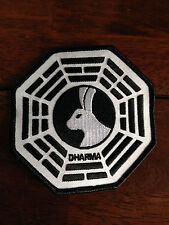 """LOST TV Series Dharma LOOKING GLASS 4"""" Embroidered Patch"""