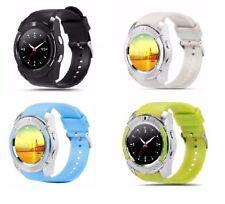 Premium Smartwatch Handy Uhr V8 Bluetooth SIM Kamera Android Samsung 5 Farben LG