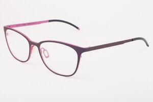 Orgreen NASTASSJA 624 Matte Mahogany / Matte Fuchsia Eyeglasses 53mm