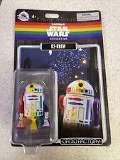 Disney Parks Exclusive Star Wars Rainbow Pride R2-RN8W Rainbow Droid Factory NEW