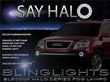 2007 08 09 10 11 12 GMC Acadia Halo Fog Lamp Angel Eye Driving Light Kit+Harness
