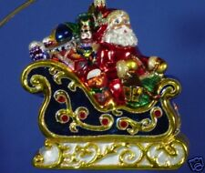 RADKO 3010837  MAGICAL SLEIGHRIDE - SAKS FIFTH AVENUE EXCLUSIVE RETIRED ORNAMENT