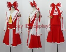 japan anime Touhou Project Hakurei Reimu cosplay costume any size custom