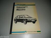 Schulungsunterlage Work Book Rover Maestro Product Training Stand 1983