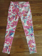 New Levi's Womens Size 29 Watercolor Floral Ankle Length Legging Jeans
