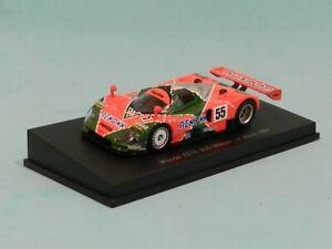 Sparky Models 1/64 Mazda 757B Winner Le Mans 1991 Weidler/Herbert/Gachot MiB