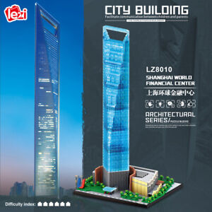 Lezi Architecture World Financial Center Mini Diamond Blocks Building Toy 4173pc