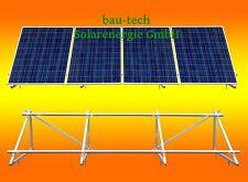 PV Solar Unterkonstruktion Aufständerung für 4 Module bis 1m breit / 1,65m hoch