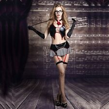 Erotisches Damen Lehrerin Dessous Set 8tlg