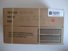 US Army MRE EPA Karton B, Insp. Date 10/22,Verpflegung, Ready to eat, Notration