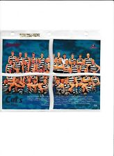 1995 BEWICK SERIES 2 TEAM 4 QUARTERS GEELONG