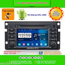 7''Android 4.4 Car DVD Stereo,GPS,Navi,Headunit,Wifi,Radio,TV for Benz Smart