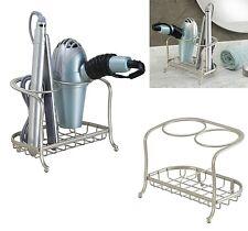 Blow Dryer Holder Flat Iron Curling Stand Hair Care Bathroom Storage Organizer