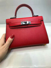 Mini KL style women handbag real leather croco epsom Ostrich grain