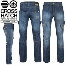 Unbranded Long Classic Fit, Straight Jeans for Men