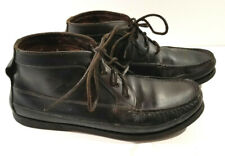 Sperry Top Sider J. Crew Mens Dark Brown Chukka Boot Ankle Size 12 M