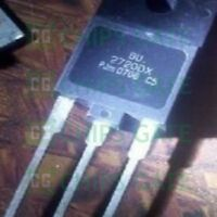 2PCS BU2720DX Encapsulation:TO-3P,Silicon Diffused Power Transistor