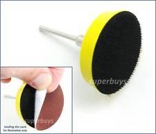 50mm Sander Sanding Polishing Backing Pad Backer Dremel Rotary Drill Bit Tool