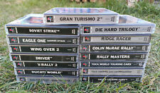 Bundle Of 15 Playstation PS1 Games Various Titles Racing Simulation Collection