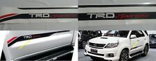 TRD Sportivo TOYOTA FORTUNER Vigo Sticker SIDE DOOR Racing Development Decal