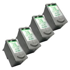 4 BLACK PG-40 Ink Cartridges for Canon iP 1200 1300 1700 1900 2200 2500 iP 2600
