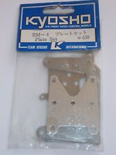 Vintage Kyosho RM-4 Plate Set (Shock Towers/Front Brace) For Rampage GP10 - RM4